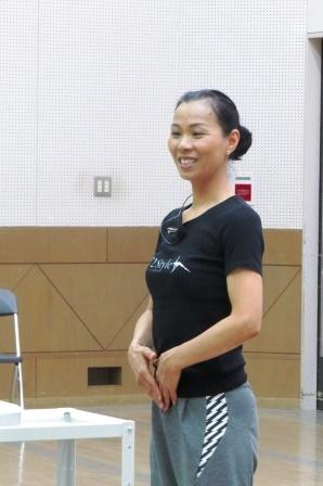 講師のパーソナルトレーナー 田中禎子さん