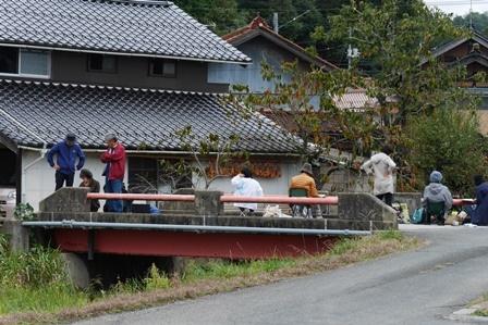 大海崎は海辺(中海)のほか小川、山などの風景に恵まれている