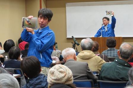 ホシザキ野生生物研究所の森所長と岩西さん