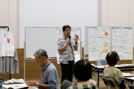 講師は島根大学 新井知生教授 指導に熱がこもります!