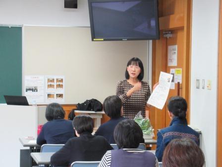 講師:管理栄養士の伊藤孝子先生