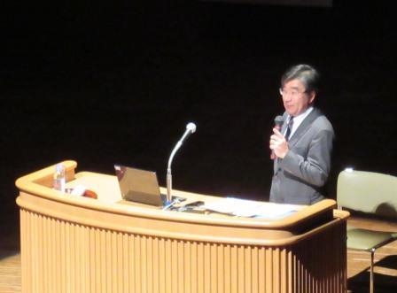 講師は NHK松江放送局局長 木村靖氏