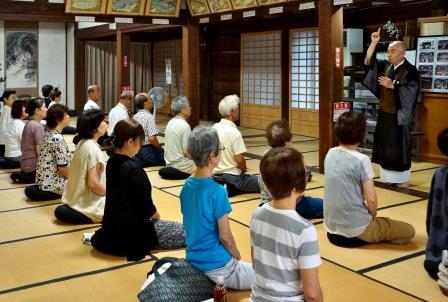 坐禅のルーツや効果を学ぶ