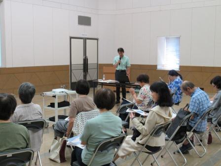 島根大学教授 新井知生先生から話を聞く