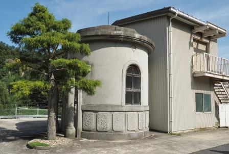 大正8年に築造された9 つのろ過施設は、国の登録有形文化財に登録されています