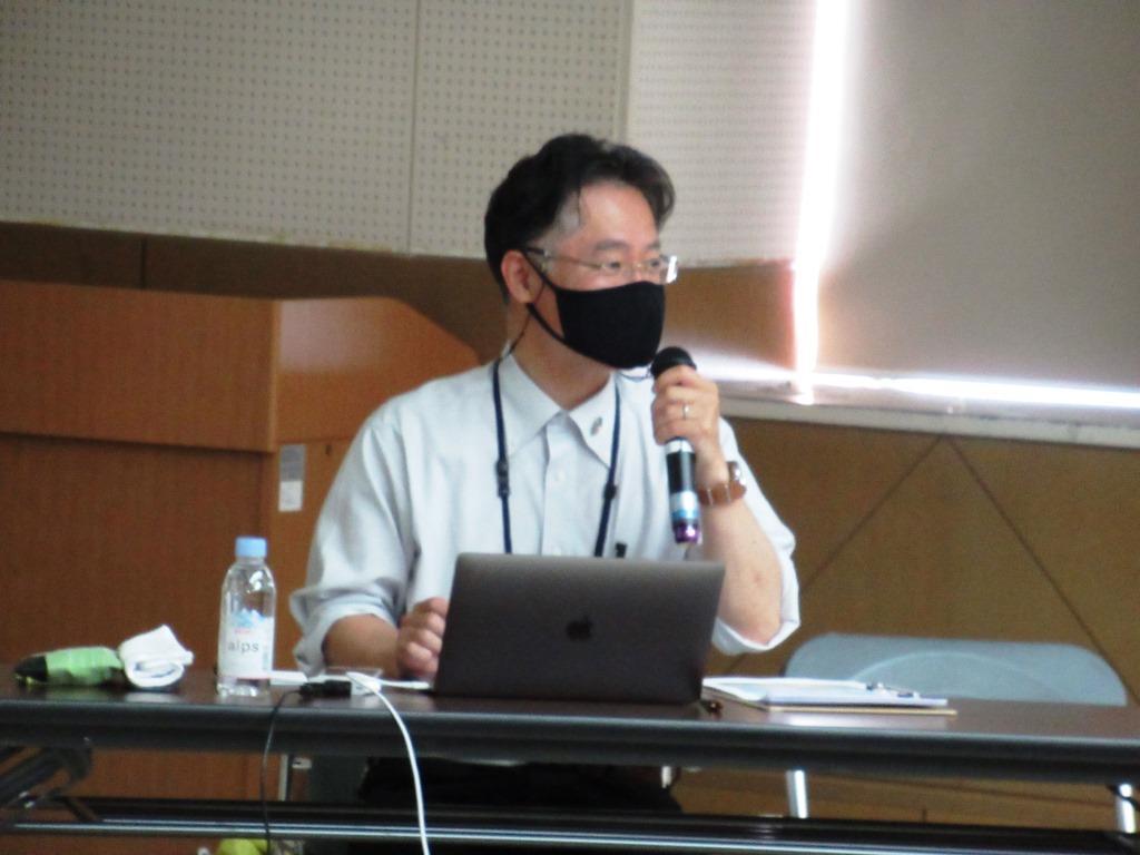 ブライチロー!の講師 島根大学教授 松本一郎氏  ブライチローは今回で4回目の開催